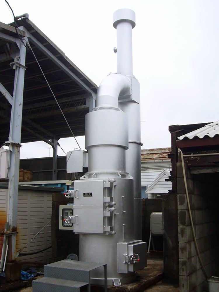DE780型サイクロン集塵機付帯